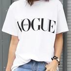 VOGUEロゴTシャツ 3色展開