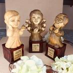 卒業式や結婚式の記念品に…似顔仏像でプレミアムな喜びを