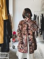 """Blain"" cat motif jacquard weave jacket"