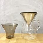 KINTO コーヒーカラフェセット ステンレス 600ml