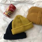 【小物】伸縮性いいレトロ暖かいカラー豊富ニット帽子 23853976