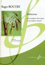 ブートリー:リフレクションズ/サクソフォーン・ピアノ