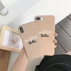 【オーダー商品】 Letter iphone case