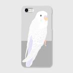 iPhoneケース セキセイインコ ホワイトウィング【各機種対応】