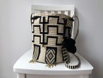 Wayuu bag (ワユーバッグ) Luxe Line With Bead Art A