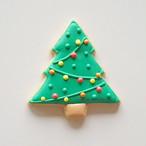 クリスマスツリー (アイシングクッキー)