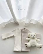 【予約販売】thick rib T-shirt〈Aosta〉