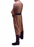 Long Robe Exsotic Berber For Men ロングローブエキゾチックベルベル柄メンズ