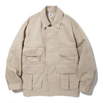 "Just Right ""Safari Jacket"" Beige"
