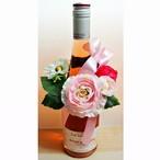フランス ロゼワイン ラシュトー ロゼ・ダンジュ &フラワーワインホルダー※造花使用※