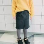 ポケット付きニットスカート【578】