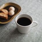 林健二 白磁マグカップ