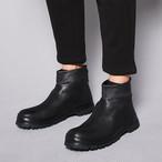 ☆お届けまで15日以内☆ブーツ ブラック メンズ 靴  シューズ モード おしゃれ モノトーン