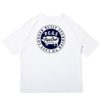 CIRCLE PORK POCKET TEE/WHITE