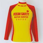 GUARD ガード メンズ水着 超撥水 ラッシュガード 長袖  [ocean safety] (イエロー、レッド2色展開) 146-770013