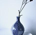 【 一輪挿し -文様- 】花瓶 / 青染付 / 日本伝統文様八種 / flower vase / vintage