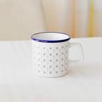 ウマグカップ(ブルー&ホワイト)