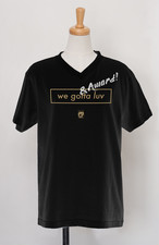 【受注生産】POLYPLUS apparel AWARD V-neck T-shirt ブラック