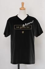 【受注生産】POLYPLUS apparel AWARD V-neck T-shirt ブラック