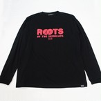 ROOTS OF SKINHEADS ロングスリーブ Tシャツ  Black