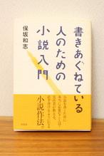 『書きあぐねている人のための小説入門』保坂和志著 (単行本)