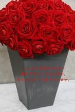 100本のバラ用花瓶(写真のバラは造花です、バラは付属ではありません)