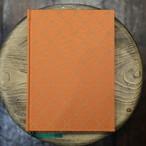 フランス製オレンジダイヤ柄 A5無地Colorisノート ユーティリティサイズ