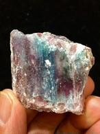 2) パライバ・トルマリン原石