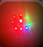 非接触給電LED(単色棒状)