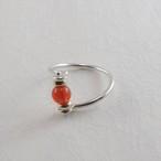赤玉髄の指輪