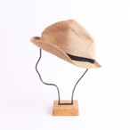 mature ha./BOXED HAT 105 mixbrown×black