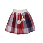 JESSIE AND JAMES  LONDON  [Forever skirt~savanna check~] 100~130サイズ