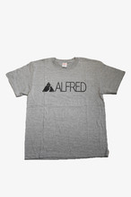 ALFRED ロゴ Tシャツ (グレー)