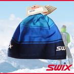 Swix スウィックス スキー スノボ ニット帽 ハットオールドスクール ネイビー/ブルー 冬 帽子 防寒 スノーボード ニット キャップ メンズ レディース アウトドア 耳 4650675001