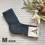 無地(M)ブラック★モンゴル靴下