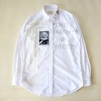 anarchy shirt 036 (white riot)