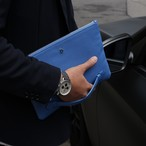 Italian leather clutchbag