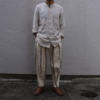 ASEEDONCLOUD アシードンクラウド moguragumi Dvergr Trousers Stratum Stripe #202501