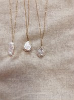 Fresh Pearl Long Necklace 淡水パールロングネックレス