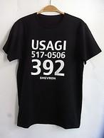 USAGI T-shirts BK ウサギTシャツ ブラック