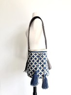 ワユーバッグ (Wayuu bag) Leather line Lサイズ