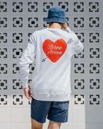 ThreeArrows Heart Logo Sweat (red)