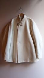 ASEEDONCLOUD/アシードンクラウド Peasant Coat/ペザント・コート OFF WHITE