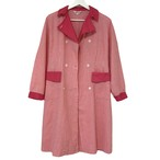 Marie France Pink Plaid Long Shirt