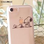 スヌーピーiPhoneケース SNOOPY CampFire [iPhone7/7Plus/6s/SE]