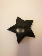 ナンタケットバスケット専用★カービング黒檀の星