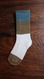 ASEEDONCLOUD/アシードンクラウド mogamibana socks/BLUE