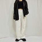 cotton wide pants (1col)