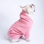【再販売予告12/20(木)20:00】Bull. ヴィンテージワッフルパーカー ピンク