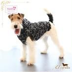 9。Parisdog【正規輸入】犬 服 ジャンパー ブラック 迷彩 フード 秋 冬物
